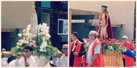 Saints on Parade